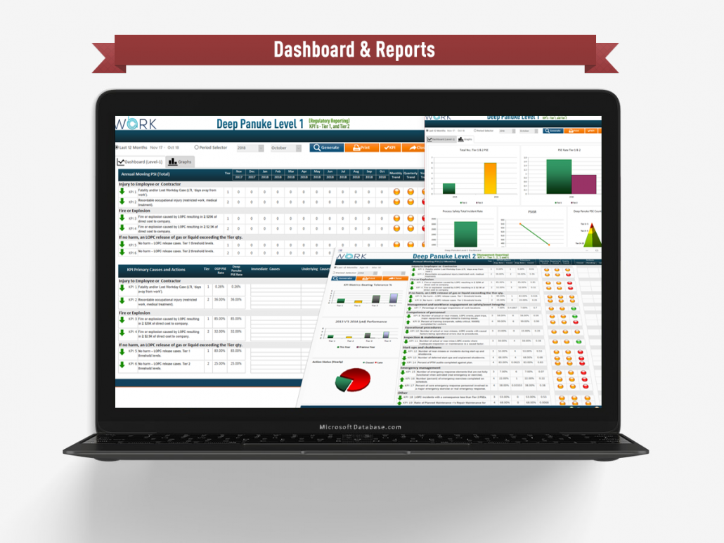 Dashboard Reporting Tools